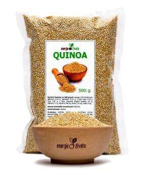 quinoa 500g - 7 důležitých látek, které potřebuje každý po čtyřicítce