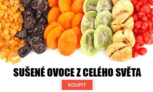 Sušené ovoce z celého světa.