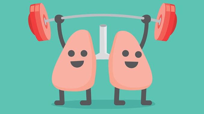 Posílení plic zvládnete přírodní cestou.