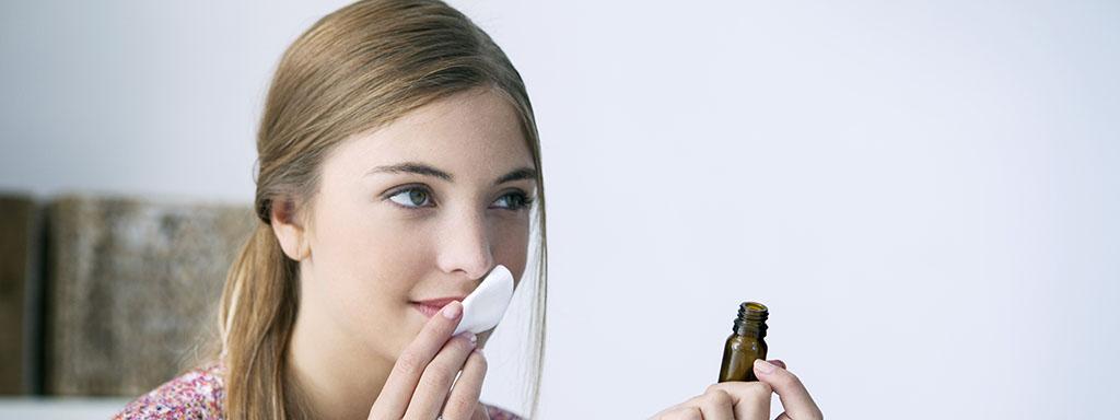 Čichová aromaterapie pomáhá vrátit čich zpět.