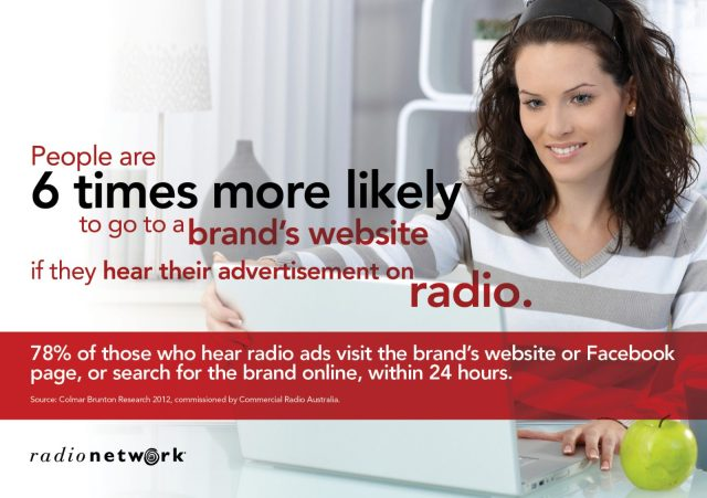 Advertising your website on the radio