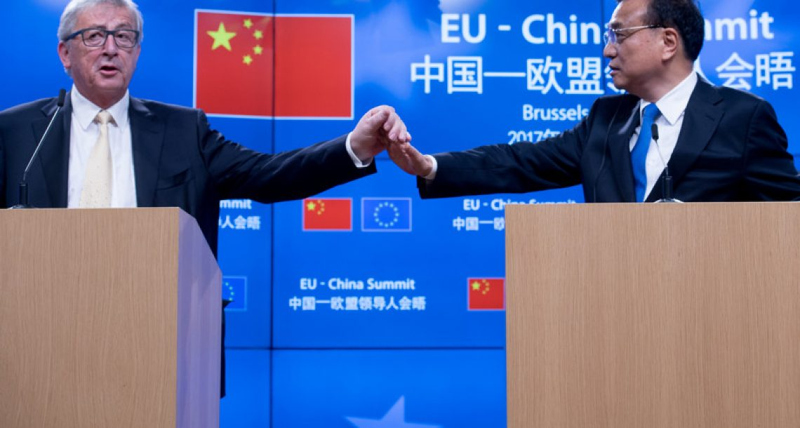 The China-EU Slow Dance in Energy