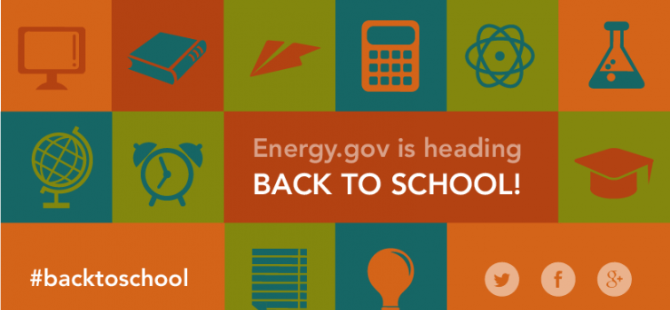 Go Back to School with Energy.gov