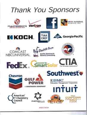 Sponsors of NBCC's annual convention in 2015