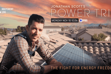 Jonathan Scott solar film Power Trip poster