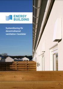Energy Building broschyr för decentraliserad ventilation