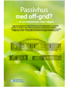 Energy Building - Villa Skönborg publikation