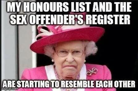 Image result for queen paedophile meme