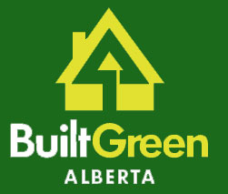 Built Green Alberta logo