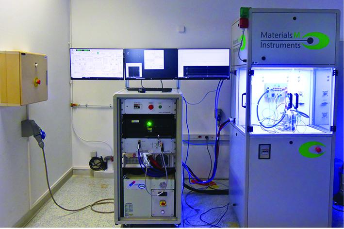 Test bench for electrolyzer