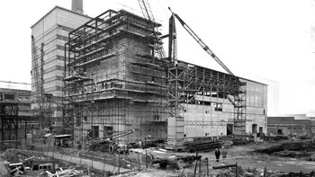 The facility during construction. Copyright: Sellafield