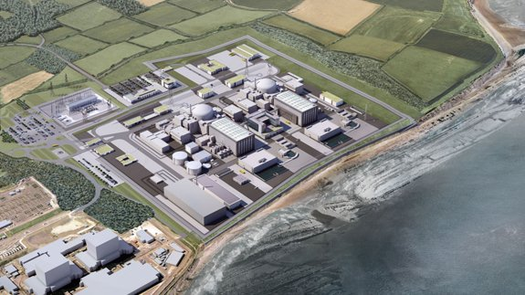 Artist's impression of Hinkley Point C. Copyright: EDF Energy