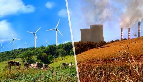 Renewables vs fossil fuels
