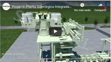Photo of VIDEO: Proyecto Planta Siderúrgica Integrada El Mutún