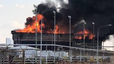 Photo of Venezuela acusa a EEUU por explosión de tanques de petróleo de PDVSA