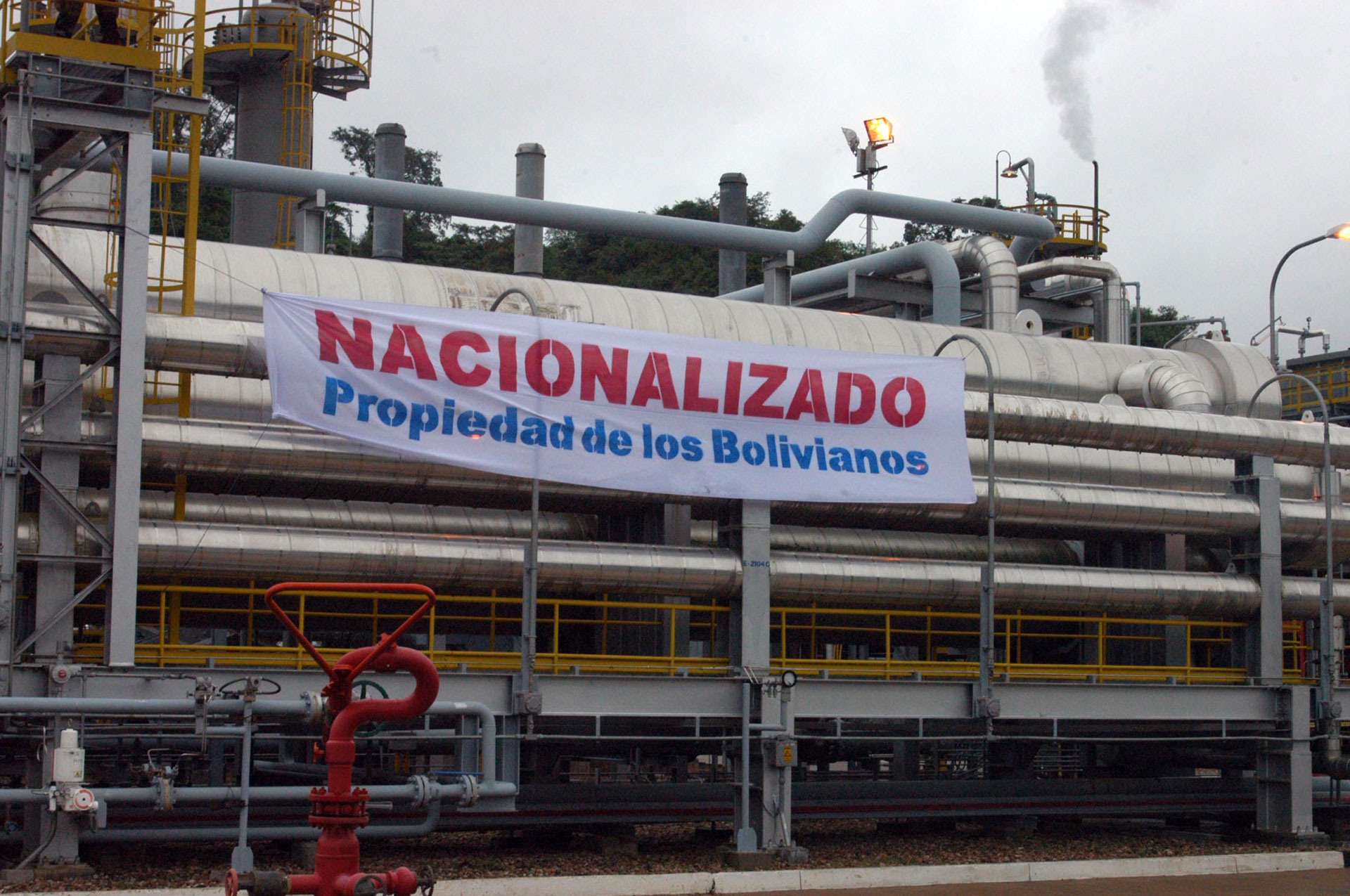 Image result for explotacion de gas en bolivia