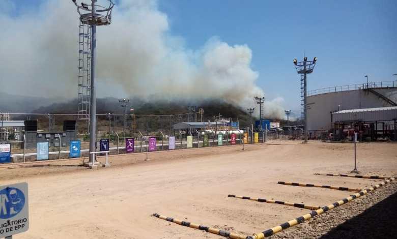 Photo of Sofocan incendio que amenazó la planta Incahuasi