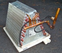 The Evaporator Coil In An Air Conditioner Cools And Dehumidifies Your Home's Air.