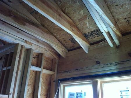 Building Enclosure Insulation Over Exterior Wall No Space Thermal Bridge