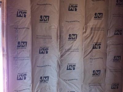 Fiberglass Batt Insulation Kraft Paper Vapor Retarder Inside