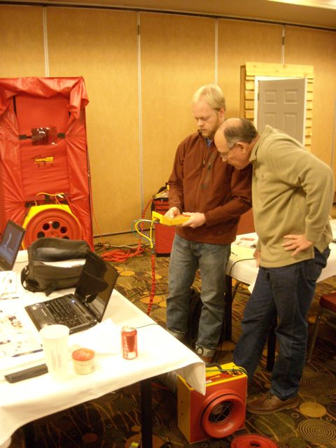HERS Rater Training Pressure Testing Practice Building Science Education Resources
