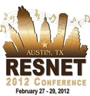 RESNET Conference 2012 Logo Building Performance Hers Austin Texas