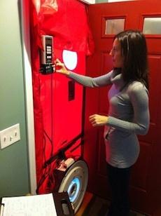 Blower Door Hers Rater Diane Milliken Horizon Maine