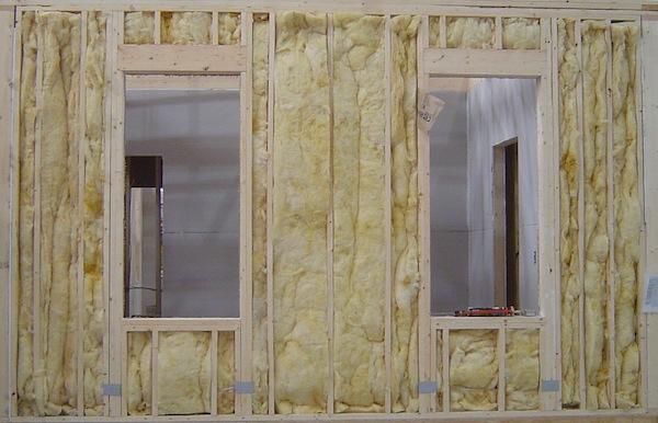 Fiberglass Batt Insulation Grade Iii Installation Modular Home Crew