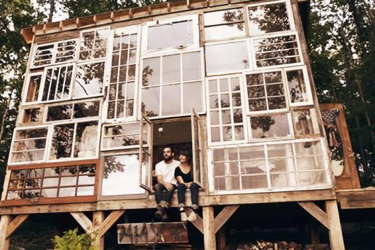 House All Glass Front Windows Repurpose Inhabitat