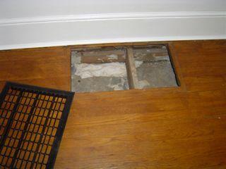 Hvac Duct Design Panned Joist Return Leakage Floor Grill 1