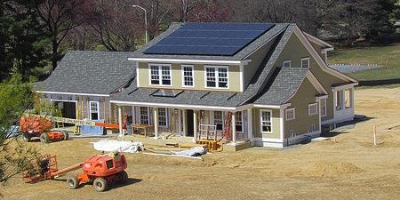 Net Zero Energy Home Test Facility Nist Photovoltaic Module