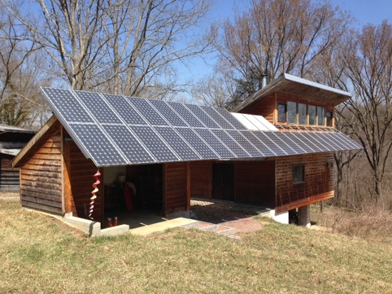 Passive Solar Net Zero House Photovoltaic Modules Richard Levine Kentucky