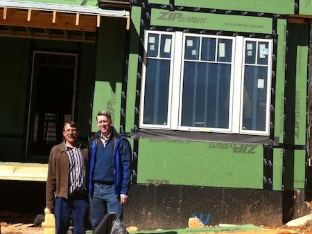Serenbe Green Home Zip Wall Sheathing Wrb Tape Seams Martin Holladay Allison Bailes