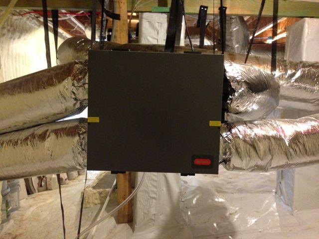 Ventilation Energy Recovery Ventilator Erv Electronic Damper