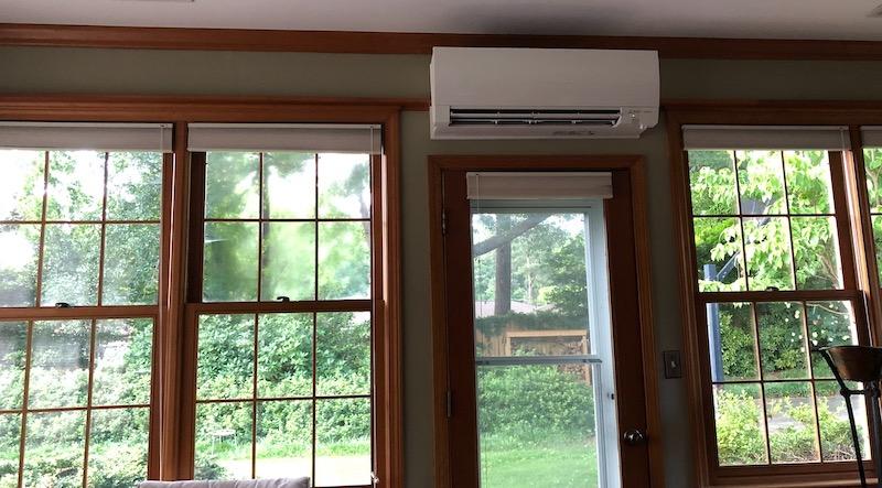 Ductless Mini-split Heat Pump