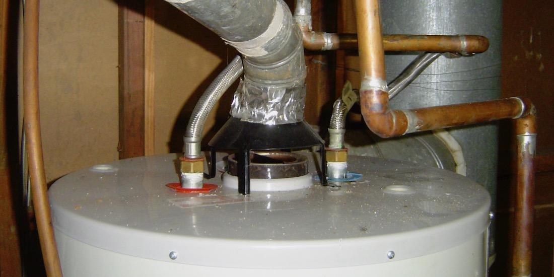 Natural Draft Gas Water Heater Exhaust Flue