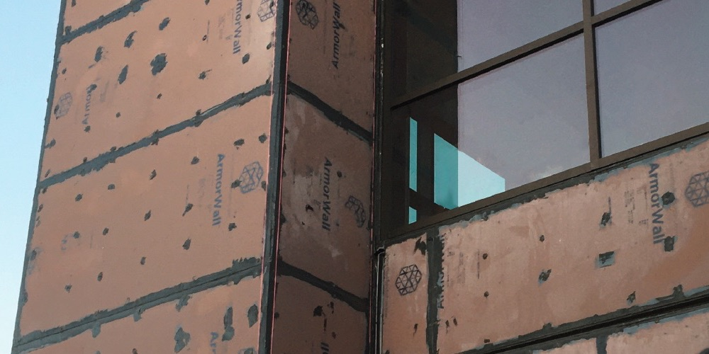 ArmorWall Structural Insulated Sheathing With Magnesium Oxide Board