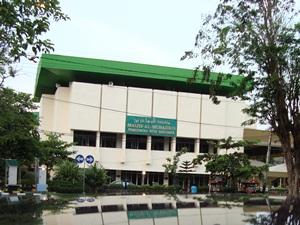 (Masjid Muhajirin di Kompleks Balaikota Surabaya, ref rajaagam.files.wordpress.com)