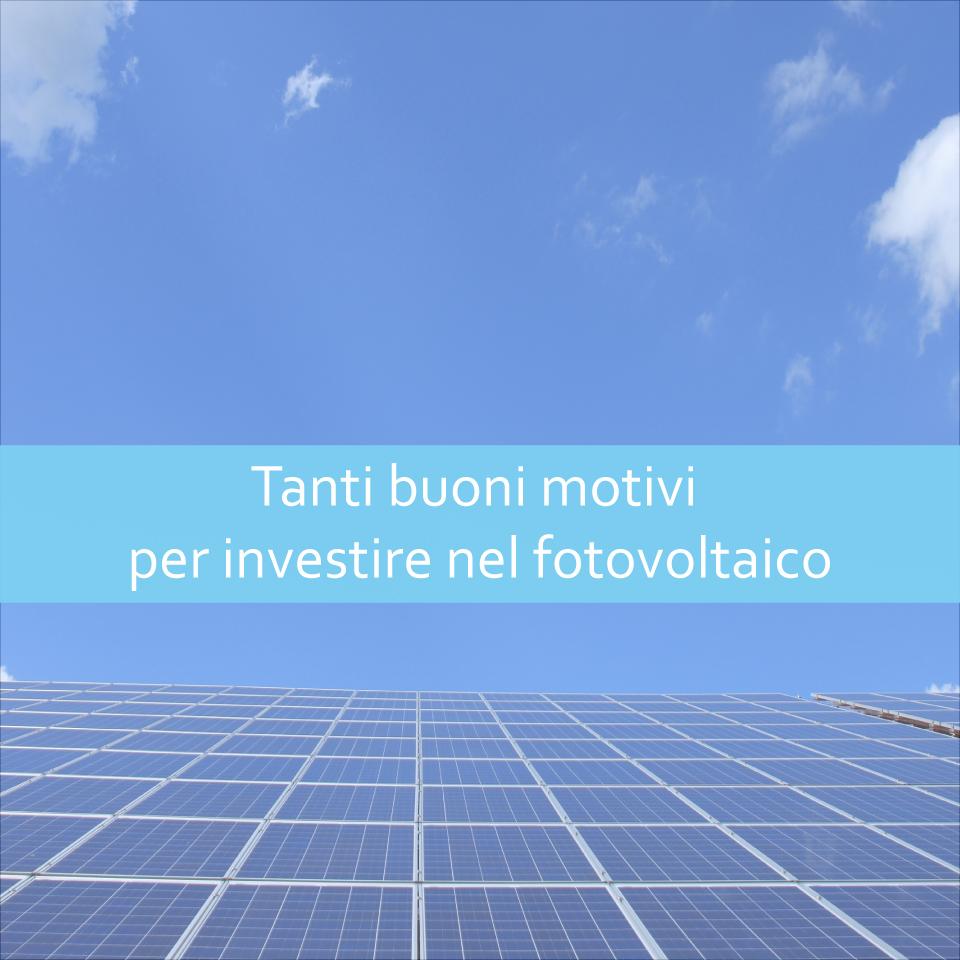 Investire nel fotovoltaico Enersistemi