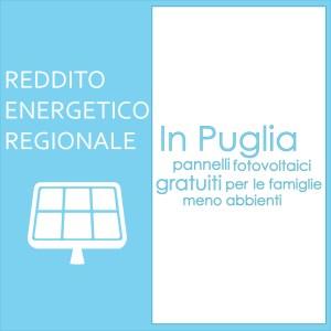 Reddito energetico regionale Enersistemi