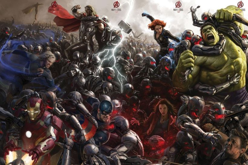 Avengers Age of Ultron Art