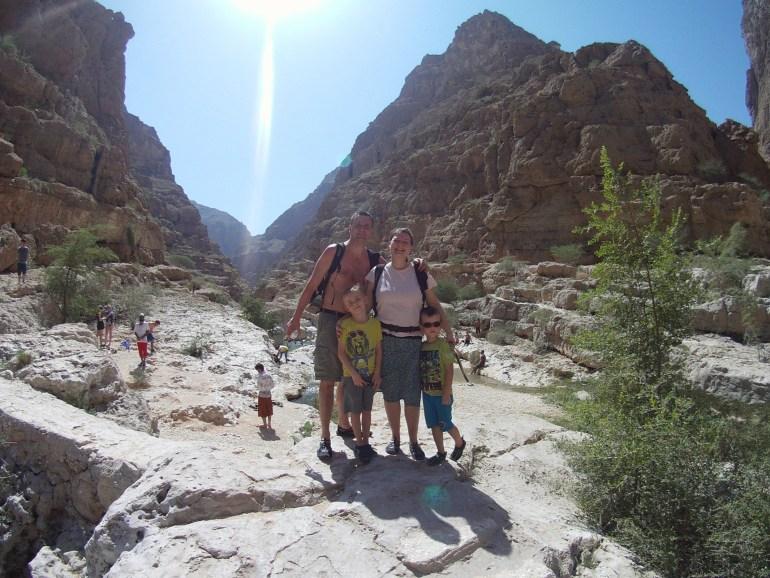 Oasen i Wadi Shab, Oman