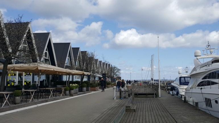Rungsted Havn i Nordsjælland