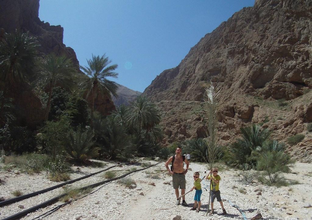 Wadi Shab i Oman