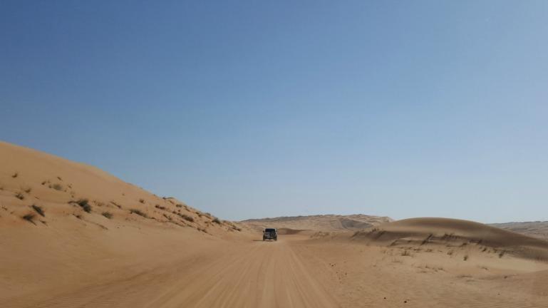 Wahiba Sands i Oman