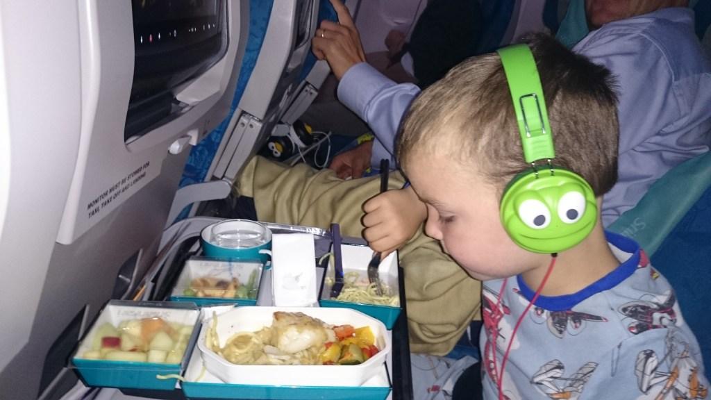 At flyve med små børn