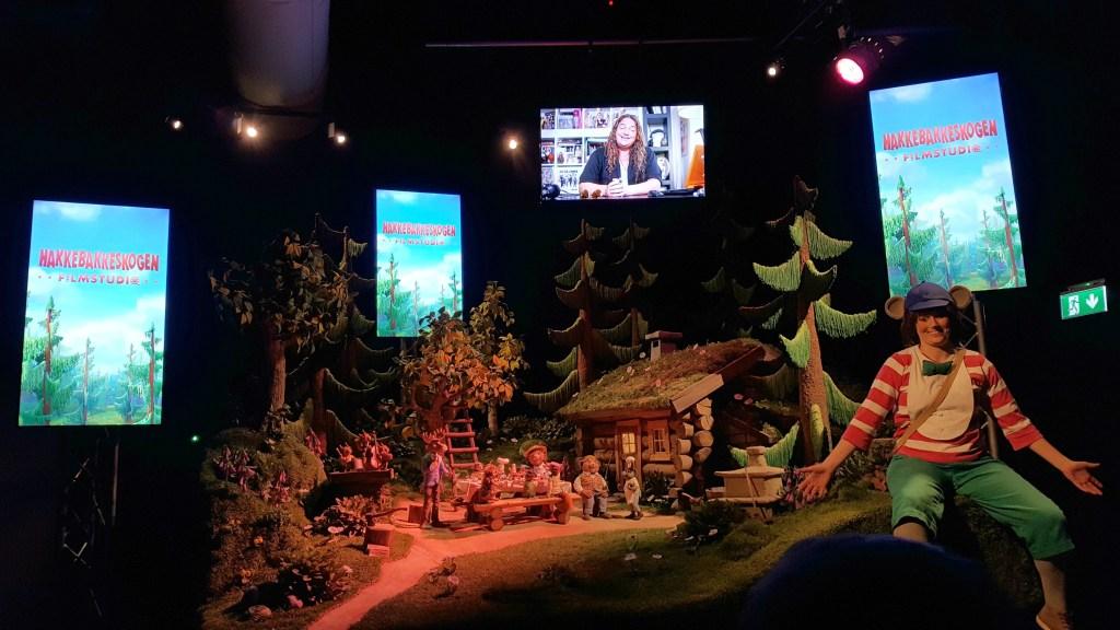Filmstudiet i Dyrene i Hakkebakkeskoven i Dyreparken