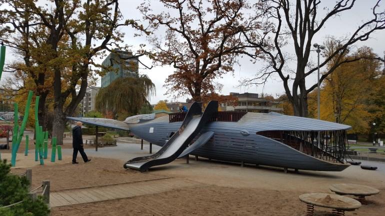 Plikta legeplads i Gøteborg