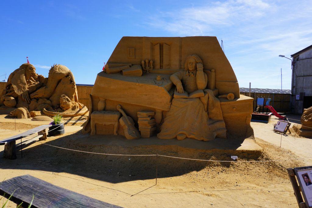 Hundested_havn_Sandskulptur_2