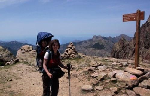 randonnée en Corse avec les enfants